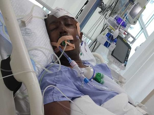 26 Years Old Sk Kishore Needs Your Help Fight Traumatic Brain Injury