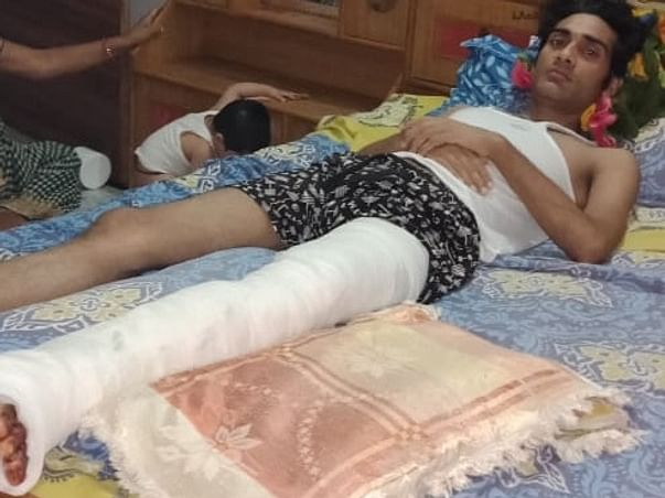 Help Vinay Mishra who suffered an accident
