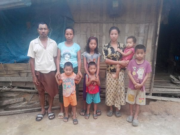 Help me providing food for the poor families.
