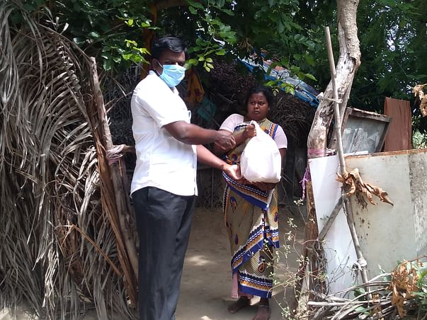 Help 1200 poorest of the poor families with groceries during COVID19