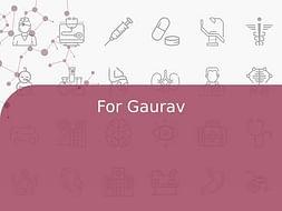 For Gaurav