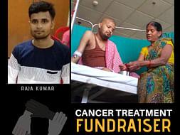 Lets Help Raja Kumar Fight Blood Cancer