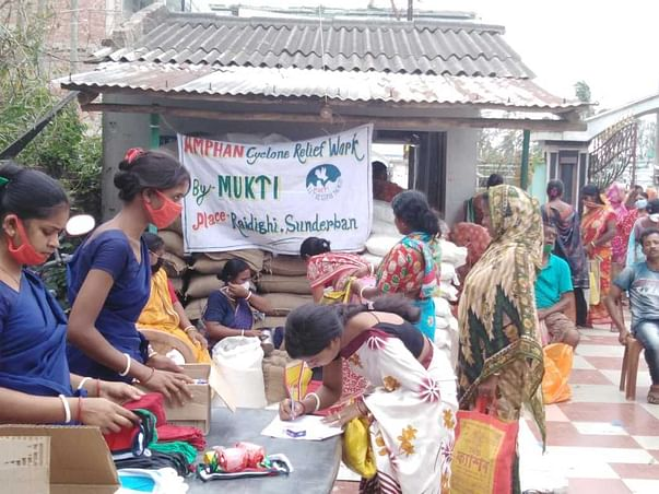 Donate for Cyclone Amphan Relief and Rehabilitation in the Sundarbans