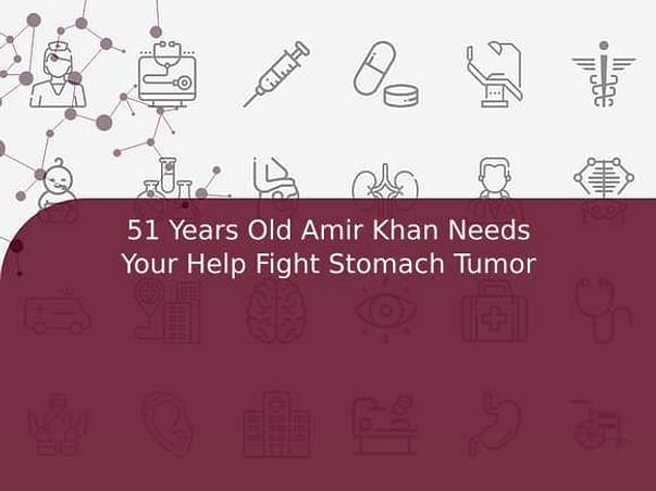 51 Years Old Amir Khan Needs Your Help Fight Stomach Tumor