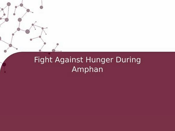 Fight Against Hunger During Amphan