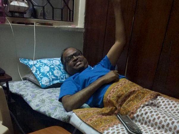 My Friend Rajesh V Patel Is Struggling With Transverse Myelitis, Help Him