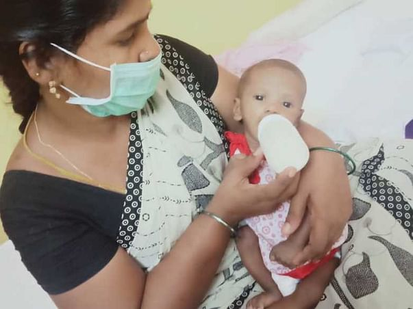 SUPPORT FOR MILK FEEDING AND MEDICINES FOR ABANDONED BABIES