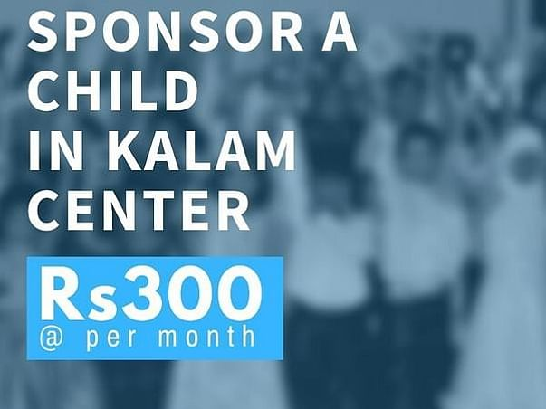 Donate and support 1 Kalam Center and Benefit 25 slum Kids.
