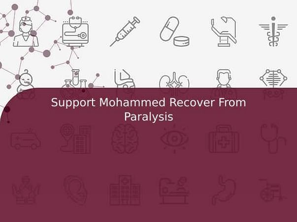 Support Mohammed Recover From Paralysis