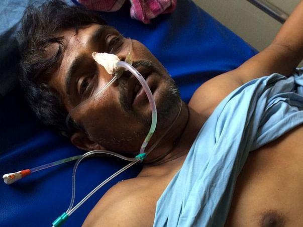 Fundraiser for treatment of Bharat Koli