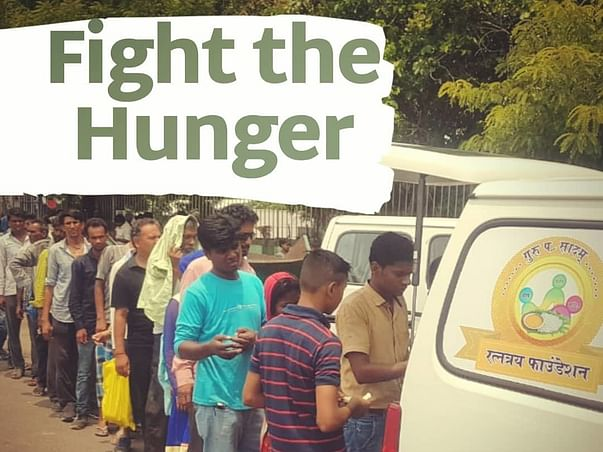Fight the Hunger through Free Food Van