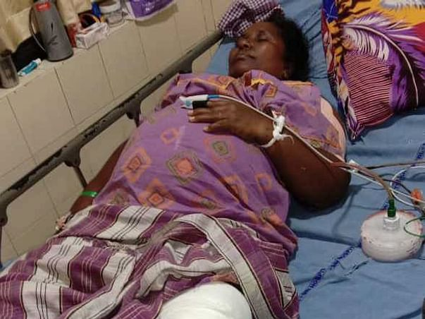 This 40 Years Old Needs Your Urgent Support In Fighting Accident (Leg Injury)