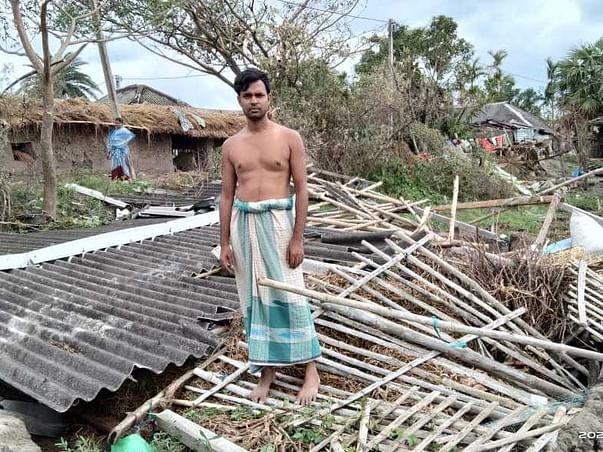 Sunderban Relief for Amphan Victims