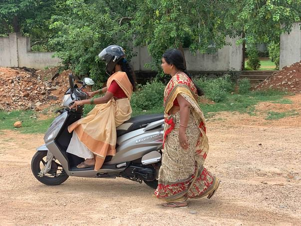 Help us in teaching young girls & women to safely ride two wheelers.