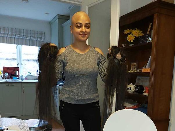 Shaving my head to fundraise for COVID affected underprivileged.