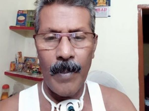Support Maid's Husband Poorna Chandran Fight Lung Cancer