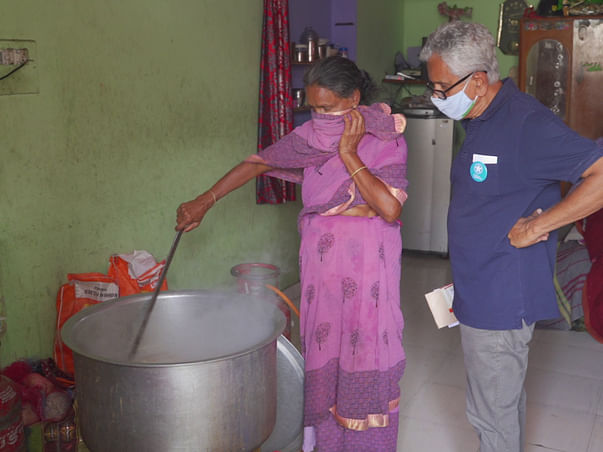 Support Venkatraman to help the poor get back on their feet