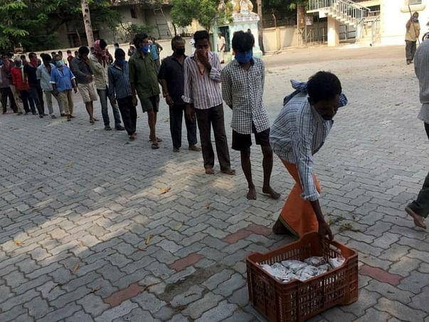 Support us to serve 25,000 meals in Guntur, AP