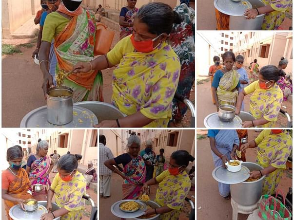 Help Us Provide Food To underprivileged people in and around Tiruppur