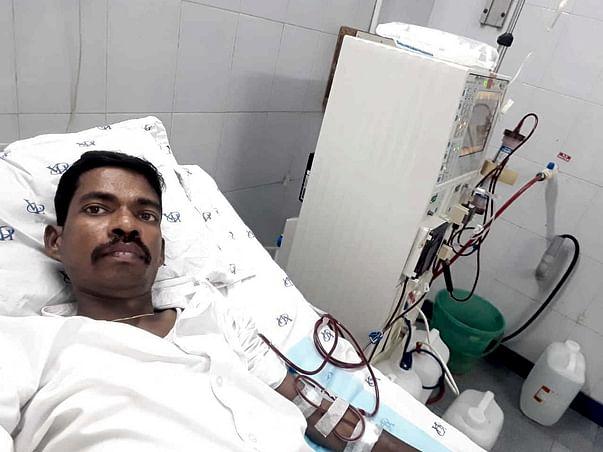 40 Years Old Prabhu  Needs Your Help To Undergo Kidney Transplantation