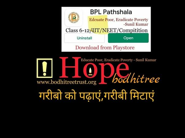Educate Poor, Eradicate Poverty