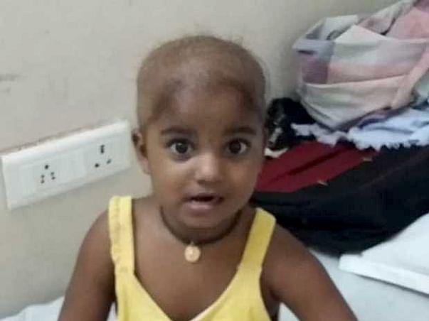 Help Baby pavani fight Cancer