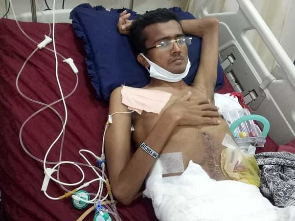 28 Years Old Nareshbhai Devrajbhai Jinjala Needs Your Help Fight Chest Wall Fibromatosis