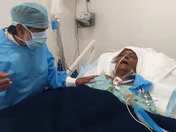 Support Sayamma Recover From Liver Cirrhosis