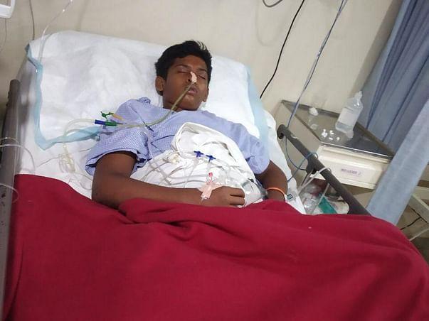 15 Years Old Pavan Needs Your Help Fight Multiple Injuries