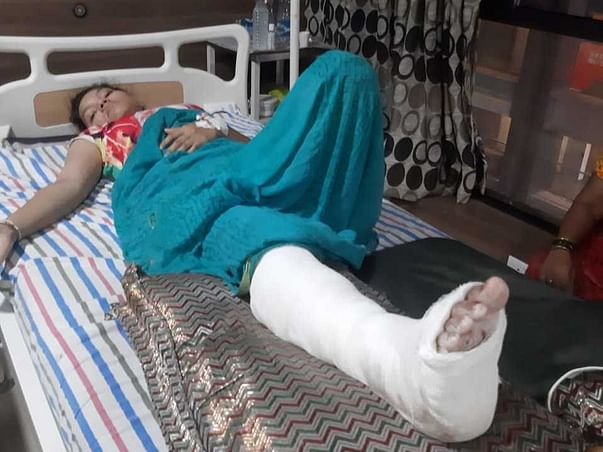 My friend Dipali Bagle, needs your help for her heel surgery!