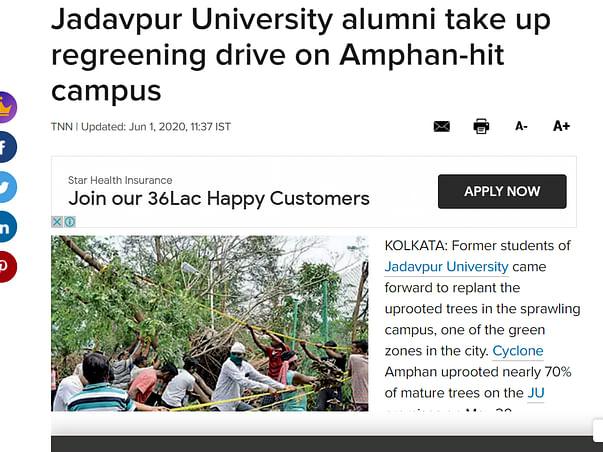 Make Jadavpur University Green Again