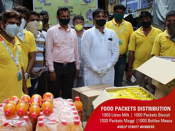 Join Hands to help STREET WORKERS
