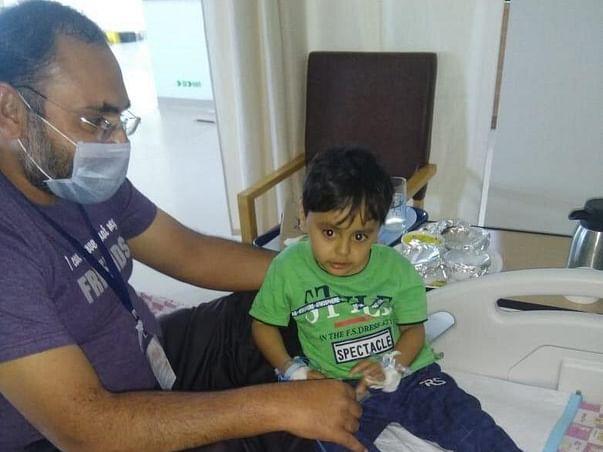 Help  Palash fight cancer