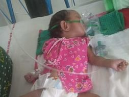 10 months old SK Huzaifa Needs Your Help to Fight A R D S