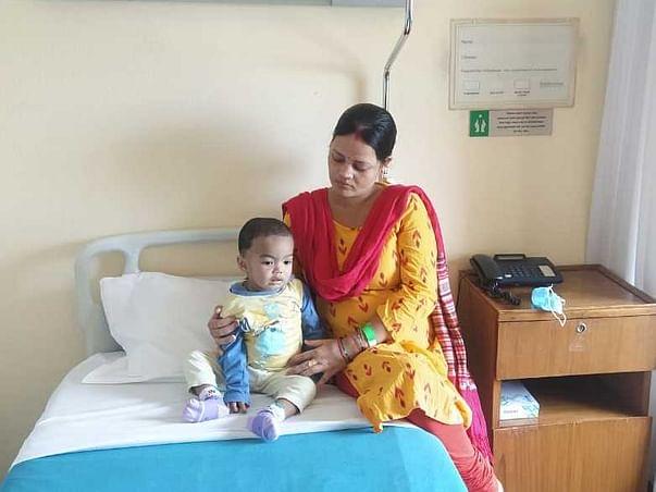 1 year old Divyanshi Samal needs your help fight Thalassemia major