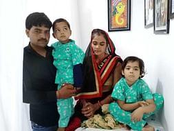Support Siblings Rishabh and Mahak recover from Thalassemia major