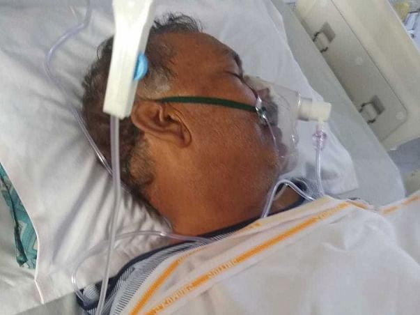 Help my father recover from Brain Stroke & severe lungs infection