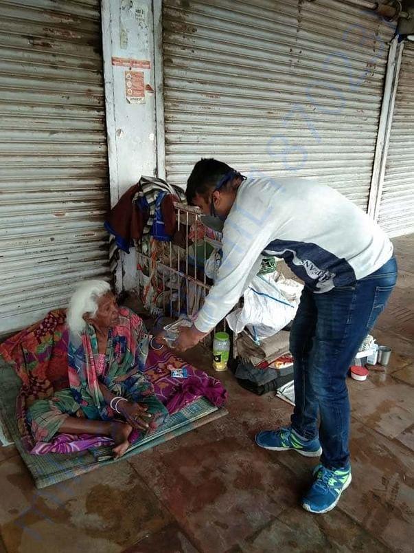 Vegetable Biryani delivered to migrant workers