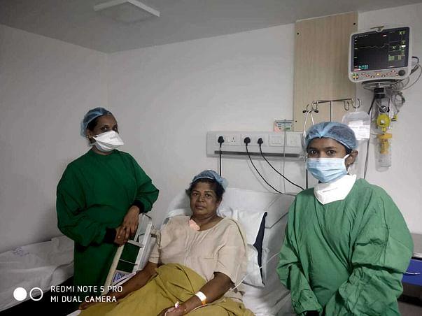 Support Banumathi Recover From Multiple Myelomas