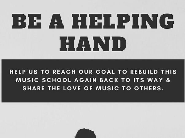 Help Us Rebuild The Music School.