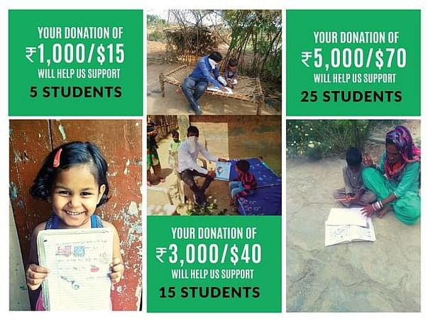 HELP 25,000 DISADVANTAGED CHILDREN LEARN AT HOME!