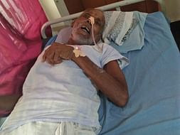 Support 62 years old Yesu fighting with throat paralysis and Bloodclot