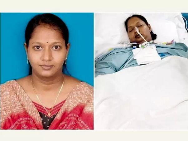 Help Saranya Recover From Brain Stroke