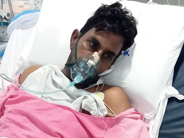 This 55 years old needs your urgent support in fighting Pneumonia