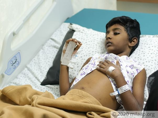 My son needs to undergo a Liver Transplant within the next few days and need your help