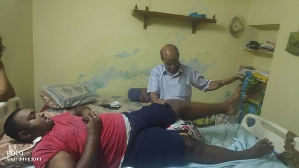 PHYSIOTHERAPY TREATMENT AT HOME