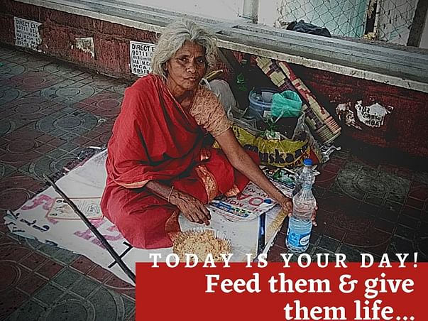 Help iNNER-EYE to feed the Homeless, Old-age & Disable People