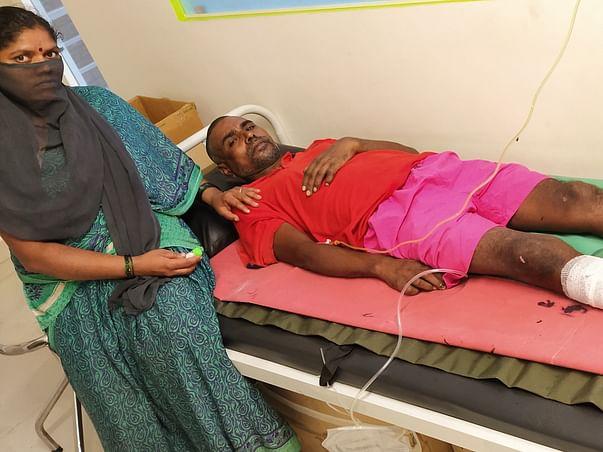 Help Tanaji Naik fight Nerve Injury Paralysis