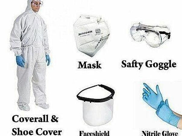 PPE kits for Ambulance Drivers and pourakarmikas