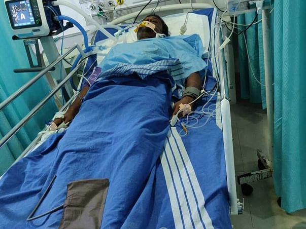 Support Ashok R Recover From Brain Stroke
